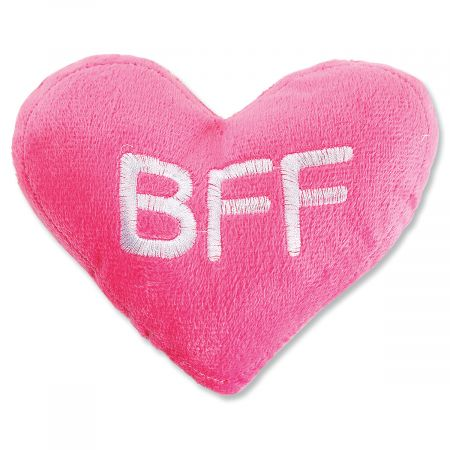 Conversation Heart Plush