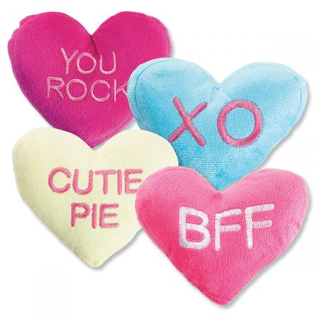 Conversation Heart Plush by Current Catalog