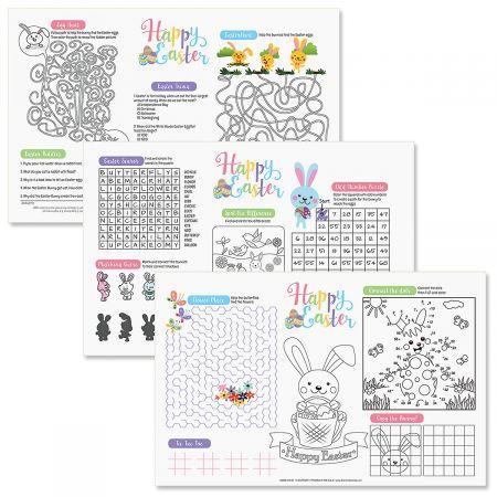 Easter Paper Activity Mats