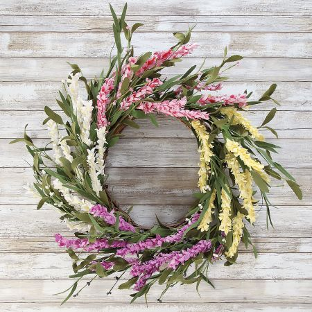 Spring Wildflower Wreath