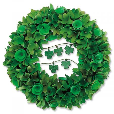 Shamrock Wreath by Current Catalog