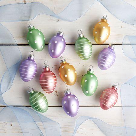 "NEW Choice Pier 1 Elegant Jewel Egg Decorative Ornament Filler Easter Spring 5/"""