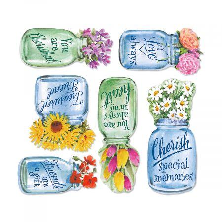 Flower Jar Magnets