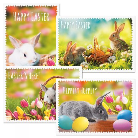 Easter Bunny Candid Photo Easter Cards
