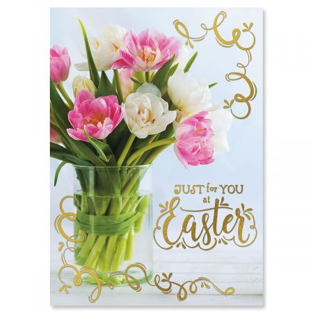 Deluxe Easter Blossoms Easter Cards