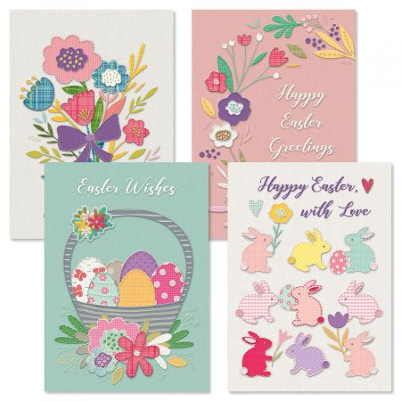 Deluxe Religious Easter Stitching Cards