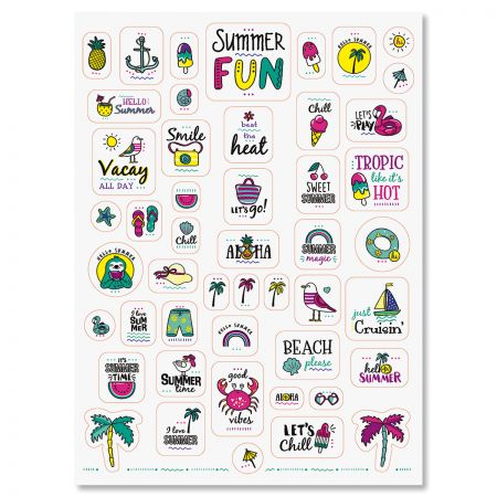 Summer Fun Stickers