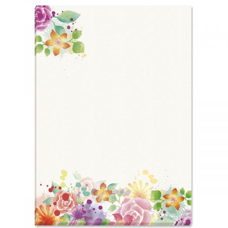 Colorful Succulents Notepad