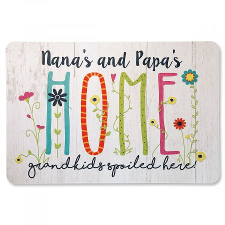 Grandparents Personalized Doormat