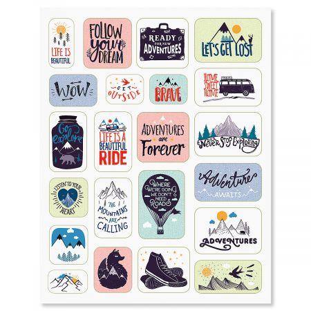 44 Adventure Stickers