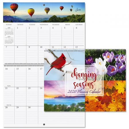 2020 Changing Seasons Big Grid Planning Calendar