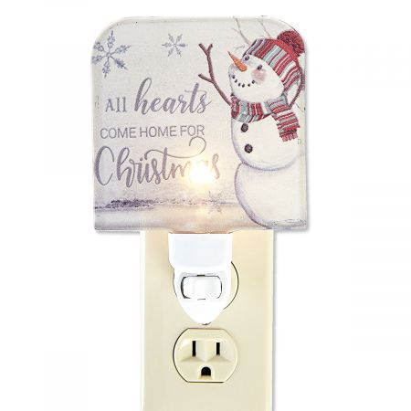 Christmas Snowman Nightlight