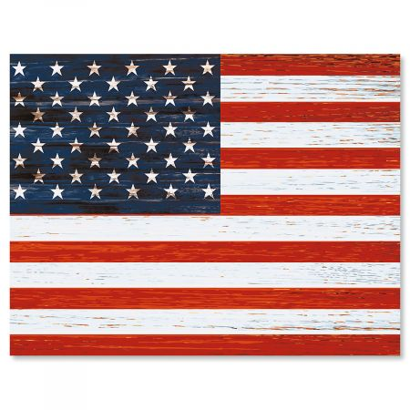 Patriotic Note Cards - BOGO