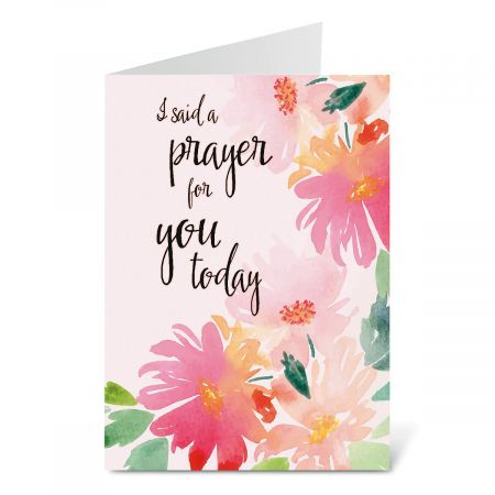 I Said a Prayer Today Note Cards