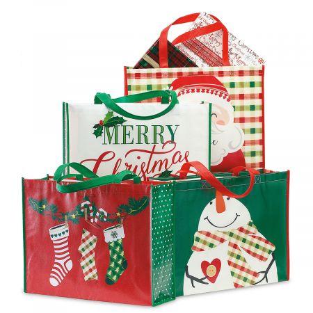 Christmas Shopping Totes