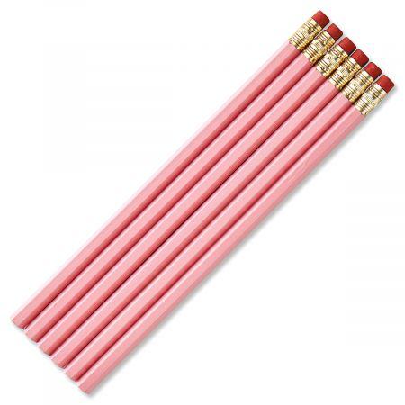 Pink #2 Hardwood Pencils