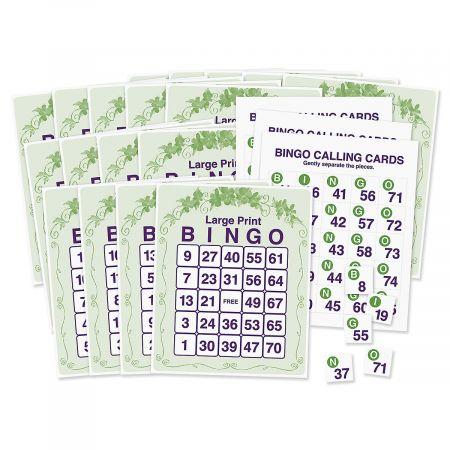 Large Print Bingo Game