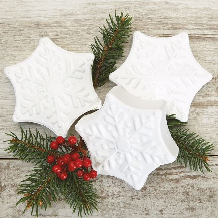 Snowflake Bath Fizzies