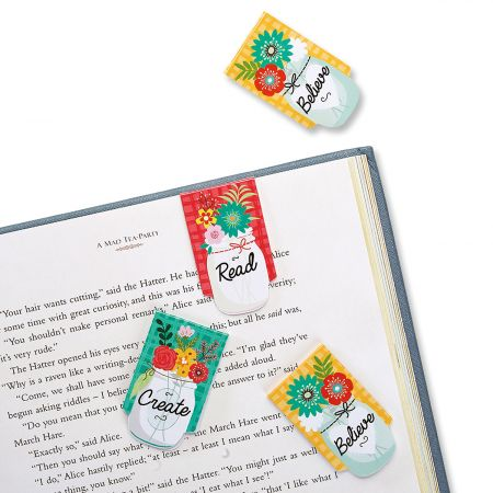 Country Jar Bookmarks