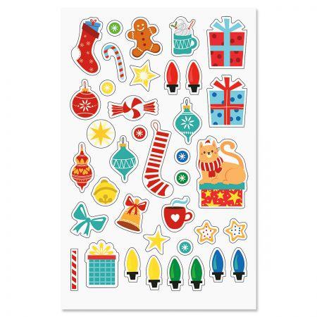 Diecut Christmas Stickers