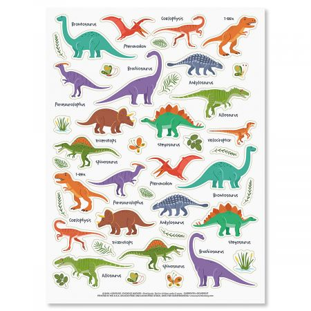 Dinosaurs & More Stickers