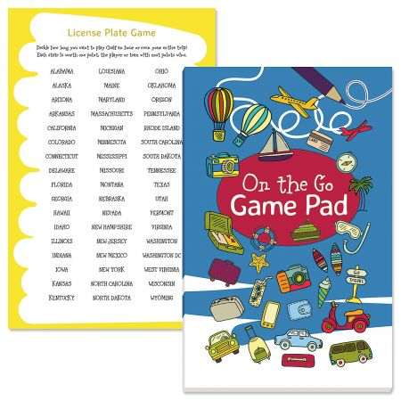 On the Go Activity Pad