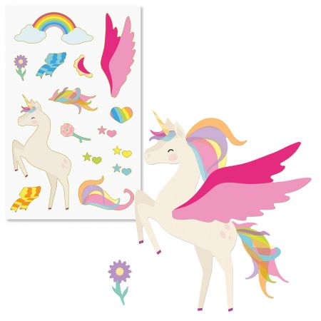 Build-a-Unicorn Sticker Sheet