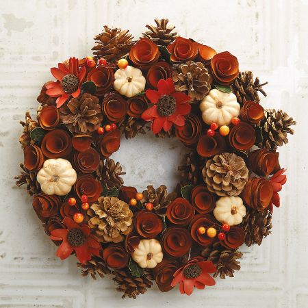 Autumn Wood Wreath