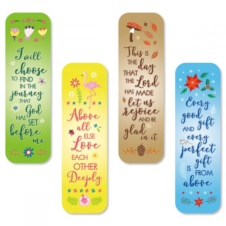 Faith Four Seasons Bookmarks - BOGO