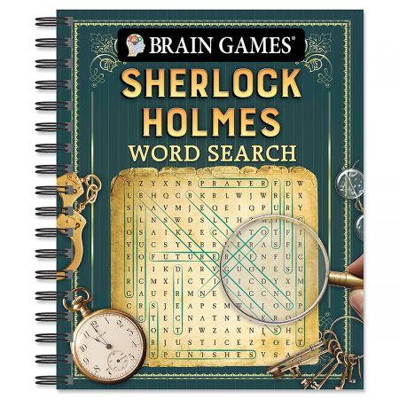 Sherlock Holmes Word Search Brain Games®