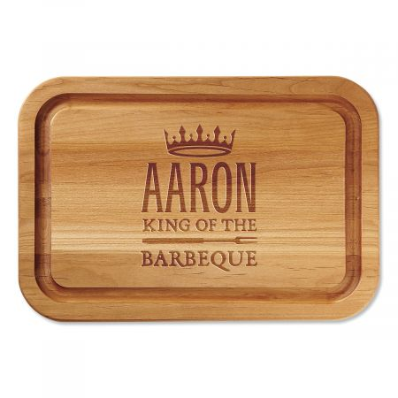 BBQ Engraved Wood Cutting Board