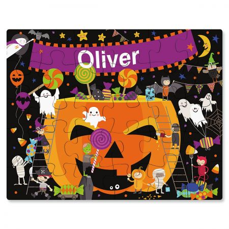 Personalized Halloween Dance Party Puzzle