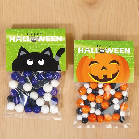 Cats & Jacks Halloween Treat Bags and Toppers
