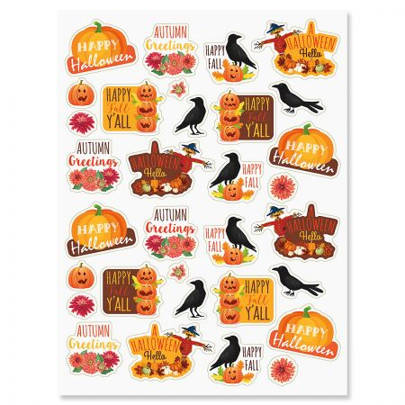 Halloween Hello Stickers - BOGO