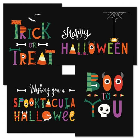 Boo 2 You Halloween Cards