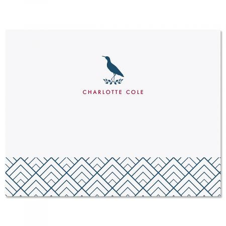 Sandpiper Personalized Note Cards