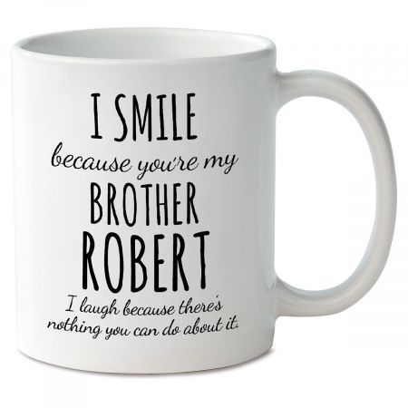 Smile Brother Personalized Mug
