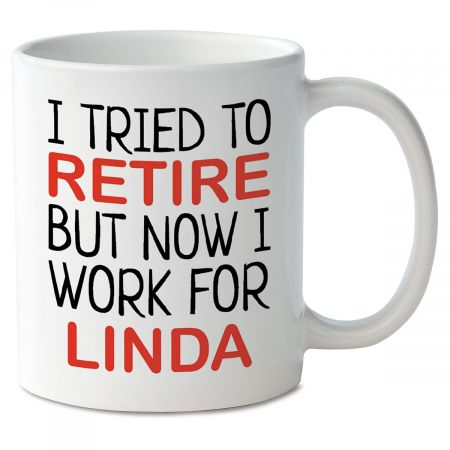 Retired Personalized Mug