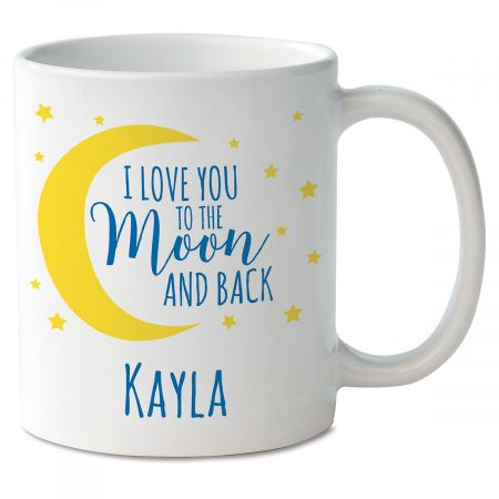 Love You to the Moon Personalized Mug
