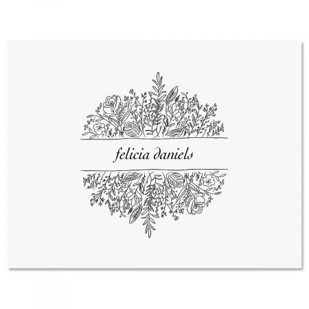 Garden Box Personalized Note Cards