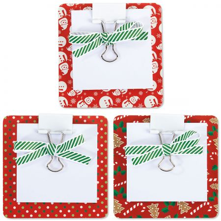 Christmas Coaster Notes - BOGO