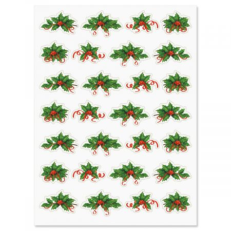 Holly Stickers