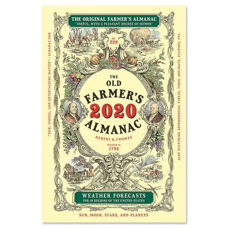 The Old Farmer's 2020 Almanac®