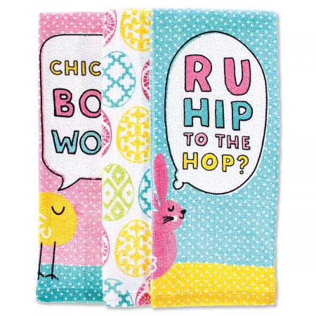 Hip to the Hop Easter Towel