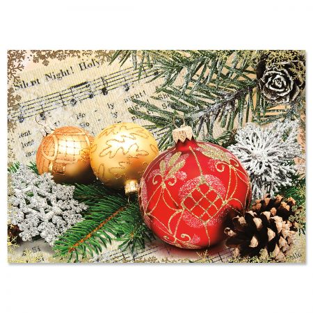 Ornament Religious Christmas Cards