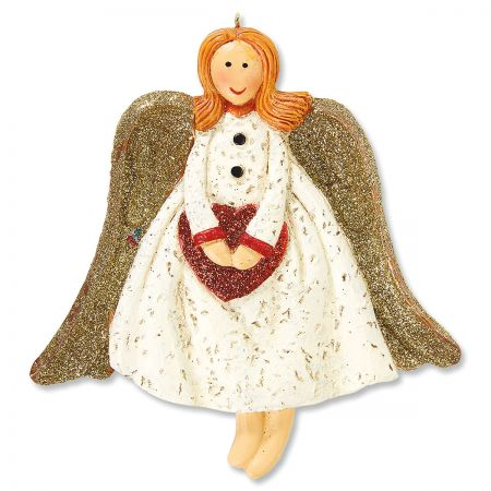 Heart Angel Ornament