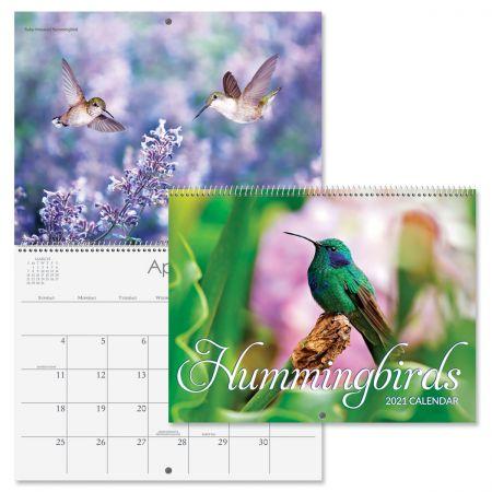 2021 Hummingbirds Wall Calendar