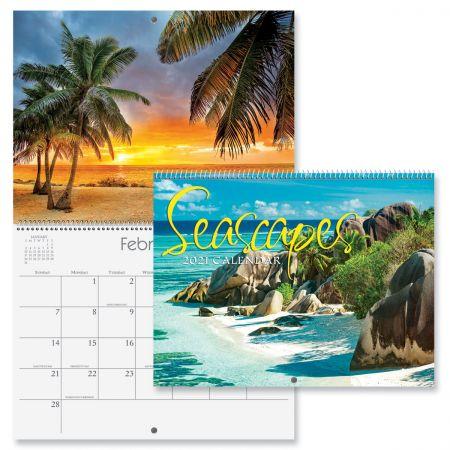 2021 Seascapes Wall Calendar