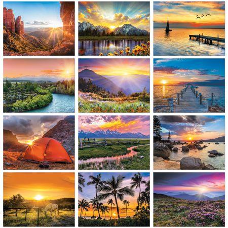 2021 Sunsets Wall Calendar