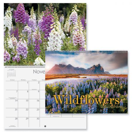 2021 Wildflowers Wall Calendar